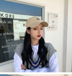 female cap niche fashion brand sunscreen sun ins Korean Embroidered women's hat style web red embroidery sun hat