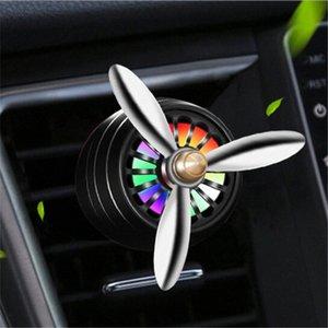 Autoklimaanlage Sockel Fan Parfüm Aroma-Erfrischungs Clip-Dekor-6.5 * 3.5cm Duft Bunte Atmosphäre Licht 0hpR #