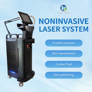 Pico Laser 755nm pigmento rimozione Q Switched Nd Yag Laser Pico Laser Tatoo Removal ringiovanimento della pelle Macchina
