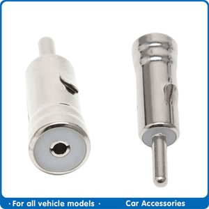 Cables Car Vehicles Radio Stereo Iso To Din Aerial Antenna Mast Adapter Connector Plug Automobile Internal Accessories