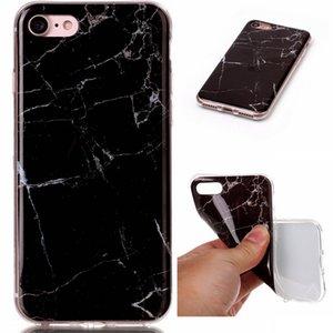 Mármol de la roca de piedra del modelo del IMD TPU funda de silicona del gel de la piel Cubiertas Para más iPhone 5 iPhone 5S 6 6s iPhone