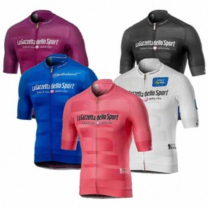 Tour de ITALIE ITALIA 2020 Cyclisme Maillots d'été à manches courtes VTT Hauts cyclisme Shirt Ropa Racing Vêtements V3SQ #