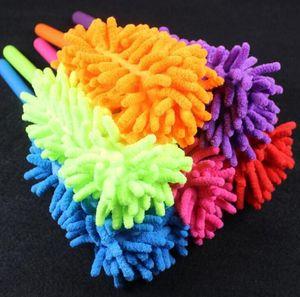 Remoção de poeira Feather Dusters Handle extensível limpeza macio Cleaning Brushes Home Portable Quarto limpeza do carro Ferramenta LJJA2900