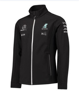 F1 Formula One Mercedes-Benz Team Racing Jersey Jacke Dünne Fleece Pullover Herbst Winter Car Arbeitskleidung Trail Running Customization