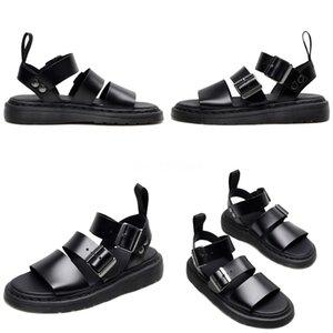 Wholesale-Hot Selling !Men#S Cork Sandals Summer Sandals Slippers Women#S Casual Sandals Genuine Flip Flops Black US Size 5.5-9#778