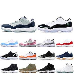 Sconto Baroni Bred Bassa 11 cappello e abito 11s Cerimonia di chiusura Concord 23 45 Low Emerald Gamma Blu scarpe da basket all'ingrosso Sport Sneakers