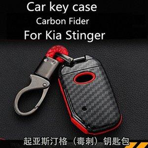 Per Kia Stinger caso chiave Stinger speciale Shell chiave Carbon Fider Aspetto Modifica FlZG #