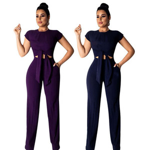 Womens clothing short sleeve outfits 2 piece set sexy tracksuit jogging sport suit sweatshirt tights sport suit klw0445