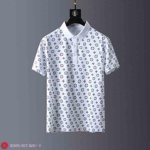 2020 Sommer-Stickerei Pferd Polo Shirts Mann aus 100% Baumwolle Polo-Shirt Men Kurzarm Casual Shirts Mann Solid Pony Hemd Camisa T