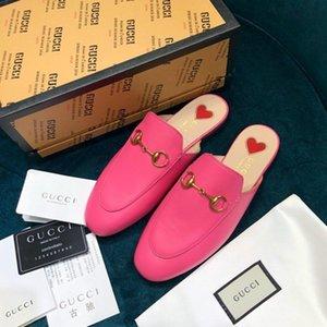 partito High-end delle donne di lusso fashionDesigner s guida scarpe casual senza Legatura dei merletti mocassini scarpe mezzo pantofole donne della piattaforma s SSSS