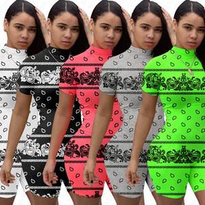 Le donne Body Designer tuta corta T-shirt pagliaccetti di estate dei pantaloni di scarsità delle tute di colore della caramella di un pezzo Shorts Tuta D71504