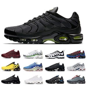 max tn plus se Navy Hues Toggle Lacing TN Plus SE Chaussures De Course Pour Hommes Des Chaussures Tns 3 Volt Glow Trainers Team Red Parachute Hommes Baskets De Sport shoes