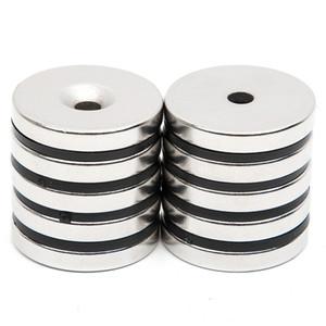 희토류 강력한 네오디뮴 자석 디스크 미니 29.7x4.7mm와 튜브 5mm N52 벌크 슈퍼 강력한 라운드 모양 자석