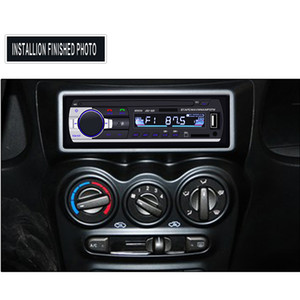 자동차 라디오 Autoradio 1 딘 블루투스 SD MP3 플레이어 JSD-520 자동차 스테레오 FM AUX 입력 수신기 SD의 USB