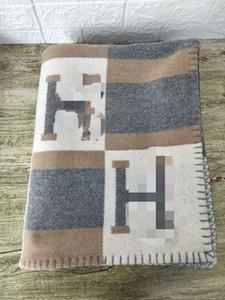 가장 낡고 편지 H 담요 14만1백70cm 럭셔리 간판 H 고전적인 색상 체크 무늬 패턴의 캐시미어 담요 목도리 5 색