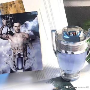 Famoso Invictus por Rabanne 3,4 onça EDT Cologne por Homens Perfume 100ML duradouro Tempo de boa qualidade Alta Fragrance