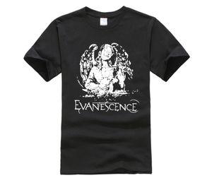 Hsuail Mens Patch T Shirt Evanescence Angelo Canvas Phiking Designer