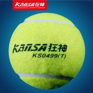 Wholesale-KanSA 3PCS Tennis Ball Sports Tennis Training Balls Trainer Exercise Ball with Rubber Rope High quality Tennis Accessories 78f5#