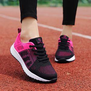 ZHENZU 여성의 스포츠 신발 여성 브랜드 스니커즈 여성 통기성 미끄러 움 방지 라이트 플랫 신발을 실행