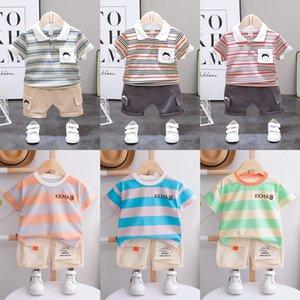 roupas de verão xN4f6 6-7-8-9-10-11-1 meses das crianças 1-3 anos de idade 2 bebê Verão definir 6-7-8-9-10-11-12 meses de moda bebê cl dos meninos Moda