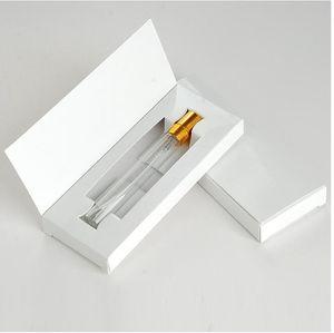 10ml5ml vollständigen Satz von Parfüm Sprühflasche mit Kartonverpackungen weißen Karton schwarzes Karton Glas Parfüm Unterflasche 2020