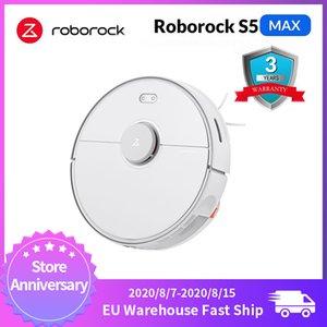 NUEVA Roborock S5 Max Xiaomi Robot Aspiradora para el hogar inteligente Barrido robótico de limpieza de Mope Actualiza Roborock S50 S55 Mi Robot