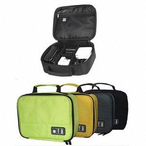 Cables de almacenamiento digital al por mayor bolsa del bolso del auricular de datos USB Flash Drives accesorios de viaje caja del bolso electrónico Hombres Bolsa Organiza JxaF #