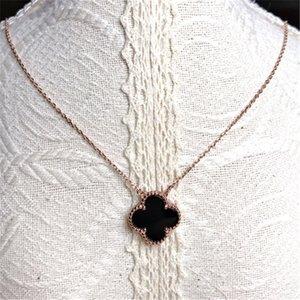 925 colar de prata Clover senso de design clavícula cadeia de mulheres 2020 nova Pendant