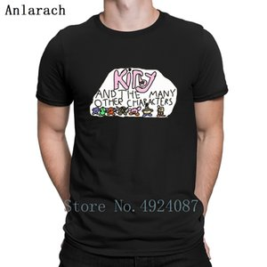 Kirby And The Many Other Characters T Shirt Slim Printing The New Top Quality Designer Shirt Summer Style Stylish Cotton Cheap