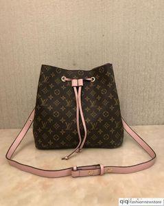 2019 new shoulder bags leather bucket bag women famous handbags high quality Cross Body