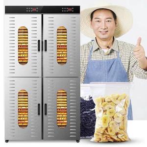 80-Schicht Vertikal kommerziellen Obsttrockner Edelstahl Gemüse Trocknungsmaschine pflanzliche Lebensmittel Dehydratoren sichere Lufttrockner