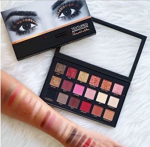 Famous for Beauty 18Colors Eyeshadow Palette desert nude Rose Gold Textured Palette Makeup Eye shadow Beauty Palette Matte Shimmer ePacket