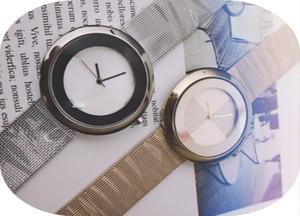 Women's fashion watch modern quartz watch women's minimalist watch luxury stainless steel strap rose gold clock
