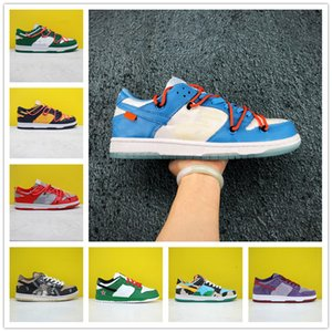 2020 Travis Scotts x SB Dunk Low QS Hommes Courir Sports Chaussures Chunky Dunky Safari Sneakers Strangelove vert pin rose chaussures Skateboard