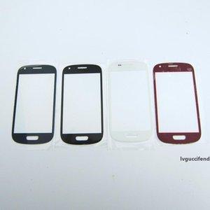 Haute qualité Nouveau remplacement avant extérieur Lentille en verre tactile de remplacement pour Samsung Galaxy S3 i8190 Mini Blanc Noir Bleu