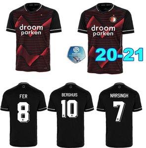 20 21 Feyenoord soccer jersey KOKCU BERGHUIS FER Camiseta de futbol JORGENSEN camiseta de 2020 2021 SINISTERRA men and kids football shirt