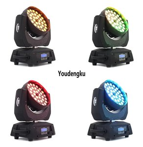 4 pieces 36x15w rgbwa 5in1 led wash movinghead robe zoom moving head led wash mixer stage light