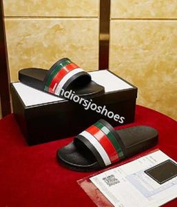 Men Women Sandals Designer Shoes Luxury Slide Summer Fashion Wide Flat Slippery Sandals Slipper Flip Flop size