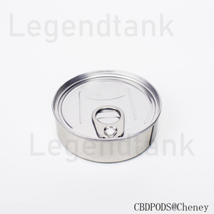 Top rank Cans for dry herb flower storage machine sealed no leaking tins with food grade metal
