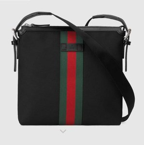feixiang5255 HN6R 387111 Striped webbing small messenger bag MEN Handles Boston Totes Shoulder Crossbody Bags Belt Bags Backpacks Luggage