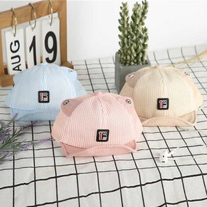 Baby Cap Children Sun Hats Toddler Cute Girl Boys Hat with Ears for Spring Props Baseball Cap 1-4Y Hat Adjustable Soft Sunhat