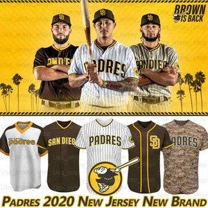 San Diego Manny Machado Jerseys Fernando 23 Tatis Jr 19 Tony Gwynn Eric Hosmer Greg Garcia 2020 Temporada Baseball Jerseys