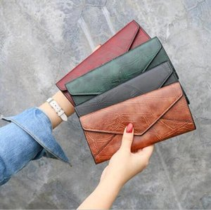 2020.Spring and autumn Hold trendy fashion womens wallet student long multi-function buckle wallet multi card holder clutch beautifully