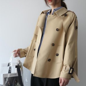 SONDR 2020 nova versão coreana do solta pequena fragrância temperamento casaco britânica short curto