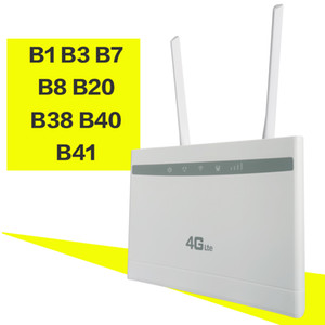 Cartão SIM desbloqueado 3G 4G LTE Modem Roteador 150Mbs Wifi LTE CPE Mobile Router LAN Port Suporte portátil Wifi Router Wireless