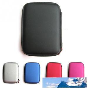 뜨거운 판매 패션 휴대용 지퍼 외부 2.5 인치 HDD 가방 케이스 파우치 보호 표준 2.5 ''GPS 하드 디스크 드라이브 장치에 대한