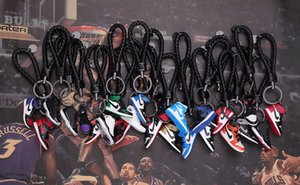 DHL Shoe keychain Sneakers basketball sports shoes couple ornaments gift basketball game memorial universal key chain iPhone 11 xs Samsung