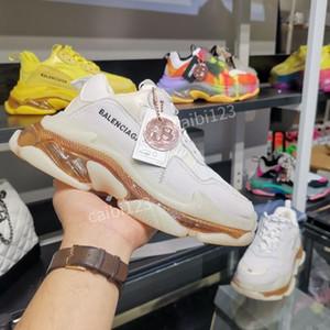 Balenciaga shoes sneakers Track Top homens mulheres treinador avô sapatos vintage montanhismo conceito viagem ylb200702