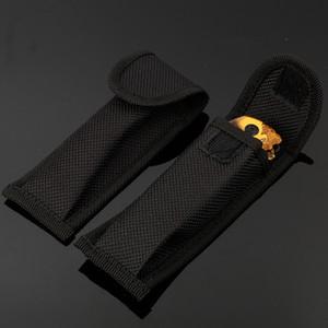 folding nylon nylon bag black bag folding knife cover outdoor knife cover