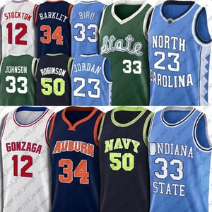 NCAA Michael Jersey Earvin Larry Johnson Vogel Jerseys David Charles Robinson Barkley SHIRT John Gary Payton Stockton Basketball Jersey 7-30